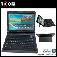 bluetooth keyboard leather case for 10 inch tablet,7 inch keyboard case for android tablet--BK516--Shenzhen Ricom