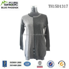 BLUE PHOENIX 2015 latest design 100% women cashmere long sweater