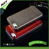 Luxury PC+ Aluminum competitive price cheap laser cell phone case for iphone 6/6 plus
