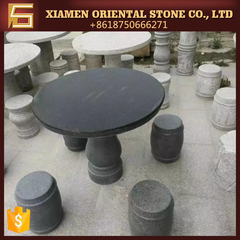 en pierre de granit extrieur fin table pour le paysage et loisirs temps - Table En Pierre Exterieur