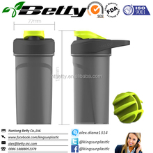 Manufacture of hot sell BPA FREE protein shake bottle