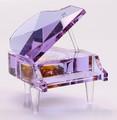 elegante purple cristal paino lembrancinhas de casamento para eventos