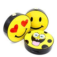 Cute Lovely Smiling Face Spongebob Printed Acrlic Bag Handbag Clutch Bag (XJEB69)