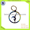 custom special design creative shape sports keychain