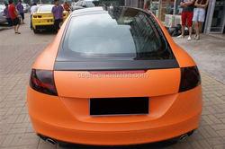 Ceein New arrrial auto decoration car sticker matte black vinyl wrap easy fit 1.52*30m5ft98ft