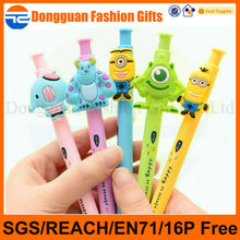 Cheap promotional gifts cartoon pen with custom logo,promotion pen