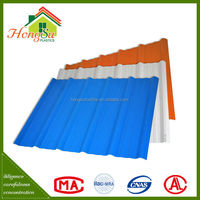 Best selling products Anti-Uv plastic building materials roof