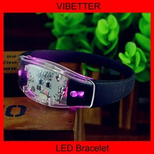 Best selling wholesale wedding supplies led flashing bracelet
