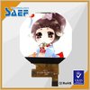 "1.22""240*240 round tft lcd IPS type without touch panel for smart watch"