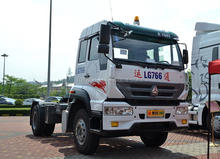 Delivery directly from Shanghai Sinotruk 240hp 4x2 prime mover/ tractor head