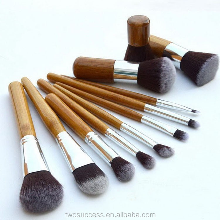 11pcs Bamboo makeup brush2.jpg