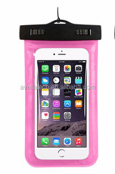 New fashion PVC mobile phone waterproof cellphone bag with