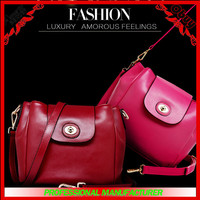 Classical turkish and korean style genuine leather brand bags