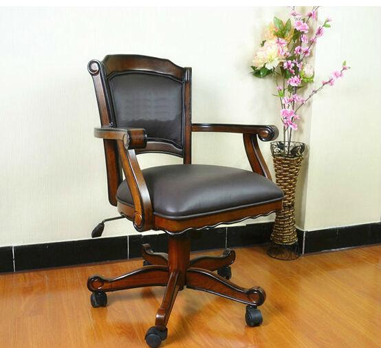 Cuesoul Todos Em Madeira Maci A Cadeira Do Computador