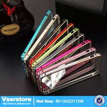 new products high quality customize mobile phone cover aluminium bumper for iphone 5s made in china