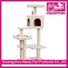 Luxury multi functional indoor cat house scratcher climbing cat tower