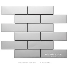 Stainless Steel Mosaic Tile for Kitchen Backsplash Wall Tile