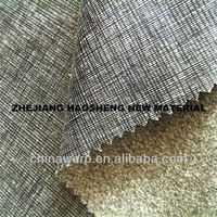 2015 new design polyester dying suede Hot quality men's suit fabric