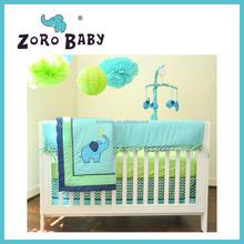 ZOROBABY Elephant Mix & Match 8 Piece Crib Baby Bedding