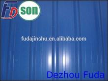 De zinc de la estructura de cartón corrugado para techos de hoja/placa