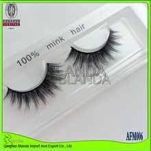 New Style Fashion High Quality Mink Eyelashes Free Fake Eyelashes