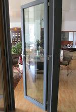 swing open aluminum casement door for residence or villa rooms / Customized color aluminum casement door / door