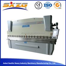 Anhui Sanxin high quality CE standard WC67K 100T/2500 hydraulic steel sheet metal plate CNC press brake