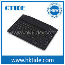 Gtide new model ultra slim aluminum bluetooth keyboard cover for ipad air