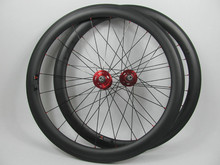 FSC50-CM-25 Farsports aero wheels carbon, carbon track wheel, carbon clincher disc wheel 50mm clincher