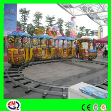 ISO9001,BV,TUV certificated playground track car