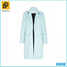 2015 new arrival winter women woolen long sleeve overcoat with high quality