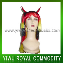 Sports Crazy Fans Straight Female Synthetic Wig
