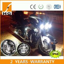 wholesale 7inch harley led headlight hi low beam motorcycle lights harley and davidson