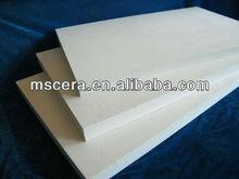 Alta pure ceramic placa de fibra