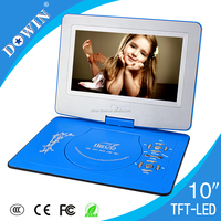 factory wholesale price quality usb tv sd radio Special Offer 10 Inch Portable DVD Player with TV and Game USB, Copy Function