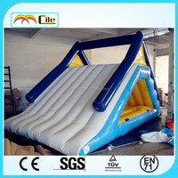 CILE Newest Blue and White Exciting Inflatable Water Slide for Kids for Adults