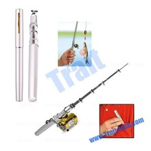 New! Deluxe Portable Fishing Rod Pen Kit Fits In Your Pocket,the fishing rod