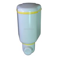 mini 300ml plastic home toilets airport hospital school bathroom accessories sanitizer manual hygiene liquid soap dispenser