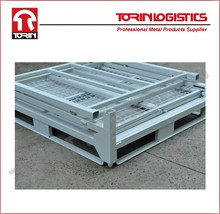 Roll off containers steel storage cage metal crate with wheel in china (L1400*1150mm/OEM)