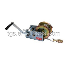 portable 1200 lbs manual small hand winch