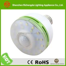 6Watt Infrared PIR Auto Sensor Motion Detector LED Light Bulb made in China