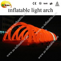 with 40kinds light changes entrance advertising inflatable lighting arch with program and controller