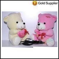 Hot KS Love Bear Shape Animal Doll Speaker Box Portable Mini Speaker For MP3/MP4ipod