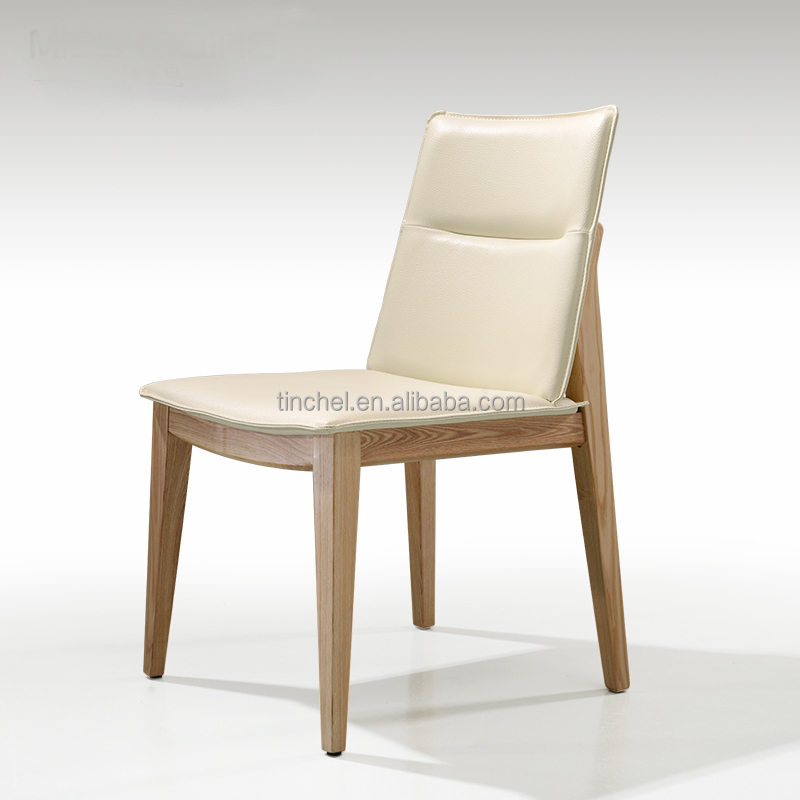 Wholesale Wooden Dining Chair leather Dining Chair Dg001