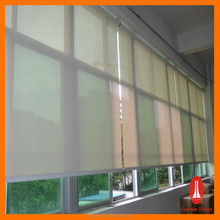 Office Electric Roller Blinds with Sunscreen Fabric
