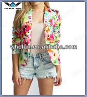 2014 new design fashion ladies blazer, beautiful coat, women's tailored jackt