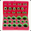 Rohs Certification TC 420pc High quality Hardware Green Rubber O-ring Assortment