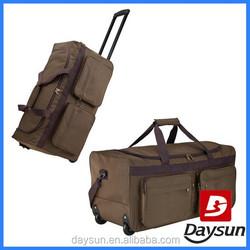 Rolling travel duffel travel man bag trolley bags