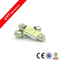 12V 3W 36mm 5730 9SMD White LED Festoon Dome Car Light reading Lamp door light
