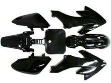 7 PCS Black Plastic Fairing For Honda CRF XR 50 CRF 125cc SSR PRO Pit Dirt Bike